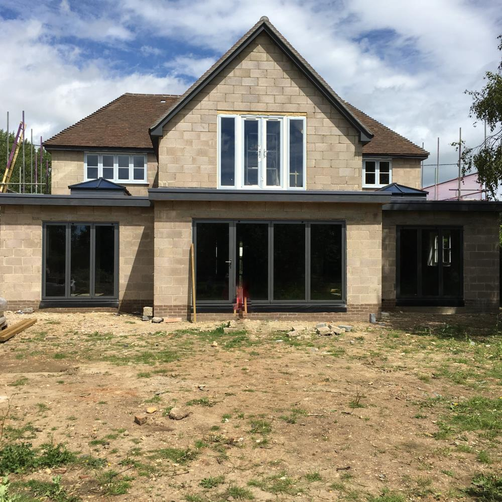 New Build Whitchurch Hill Pangbourne - Rear